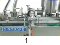 Automatic Double Lane Sandwiching Machine