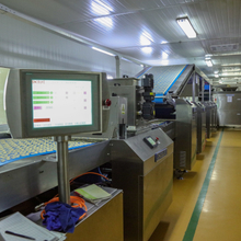 Soda biscuit, cracker biscuit production line